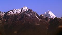 Narsing & Siniolchu (Sudhabindu Ray) Tags: mountain ice hill peaks himalaya sikkim sudhabinduray