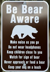 Trail Warning (shutterbusterbob) Tags: bear sign warning canon eos washington beware trail pacificnorthwest skagit washingtonstate canoneos skagitvalley skagitcounty northernstate woolley sedrowoolley sedro 70d northwestwashington eoscanon canoneos70d canon70d eos70d northernstaterecreationalarea