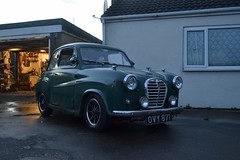Austin A35 Saloon with Dunlop D1 Wheels (NealJWelch) Tags: door two classic car race vintage austin rally wheels retro vehicle modified custom saloon lowered d1 dunlop a30 aftermarket a35