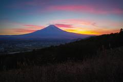 A Beautiful Sunset (Yuga Kurita) Tags: sunset nature japan landscape fuji mt sigma mount fujisan fujiyama foveon quattro dp0