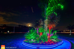 Lights-of-Christmas-Eve (Nualchemist) Tags: christmas moon night clouds lights evening colorful decorative decoration illumination fullmoon colorfullights christmasdecoration dreamy nightsky holynight bethlehem nativity babyjesus birthofjesus christmasimage colorfulillumination