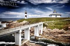 Faro Isla Pancha (Juan Carlos Balbs) Tags: espaa costa lighthouse faro mar spain galicia ribadeo islapancha