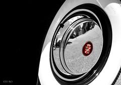 circumference... (Stu Bo) Tags: caddilac caddy bw blackwhitephotos chromeisking crown emblem whitewalls wheel rim circle canon certifiedcarcrazy classiccar coolcar canonwarrior vintagecar vintageautomobile round beautiful bestofshow worldcars warrior selectivecolor oldschool onewickedride oneofakind dreamgarage dreamcar light sbimageworks shadows showcar smooth ride idreamofcarsmotorsandhorsepower icon