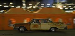 Rusty Ride (Kim Drotz) Tags: chrysler newyorker american car classic rust rusty cruising night dark motion