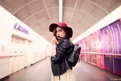 Subway-stylist (Samir D) Tags: canada eos 35mm14 carlap subway canon vancouver vancity vancitybuzz vans 604 2016 light fashion stylist underground northamerica 35mm samird hat