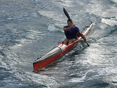 piraguista (Luis M) Tags: piragista piragua mar zumaia persona marina escenasdelavida escenadeverano marcantbrico