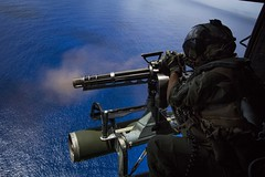 GAU-17/A minigun (USAMilitaryArchives) Tags: usmc marines marine corps training guns gun weapons 31stmeu meu 31st expeditionary unit lpd 20 huey cobra ocean pacific minigun flying nautical ariael navy us nmcs dvidsbulkimport pacificocean
