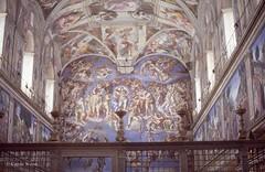 Vaticano (Città del) - Cappella Sistina (Fontaines de Rome) Tags: roma rome rom cittàdelvaticano città vaticano cappellasistina cappella sistina michelangelo giudiziouniversale giudizio universale