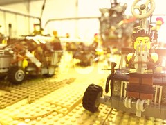Guess What Didn't Survive He Trip Back Home! (willgalb) Tags: lego mad max fury road warrior mel gibson tom hardy george miller tina turner postapocalypse car moc dubai stack 2016