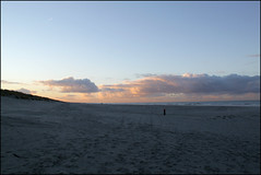 blue late afternoon (Elly Snel) Tags: ameland island nl zonsondergang sunset beach strand clouds wolken blue blauw sky lucht