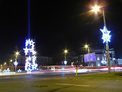 Christmas lights in Bucharest (cod_gabriel) Tags: bucureti bucuresti bucharest bukarest boekarest bucarest bucareste romania roumanie romnia night noapte lights christmaslights
