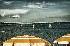 Tutti al lago (SDB79) Tags: lago bracciano lazio vacanze ombrellone relax acqua