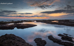 Sunset at Mengening , Bali (segokavi) Tags: mengening mengeningbeach bali seascape long exposure colourful landscape reflections d810 sigma1735mmexdg