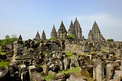 Prambanan Hindu temple (A. Wee) Tags: yogyakarta prambanan indonesia  unesco world heritage