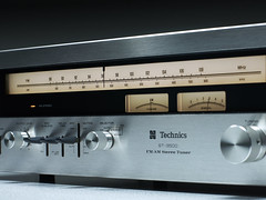 Technics ST 3500 Stereo Tuner (oldsansui) Tags: 1970 1970s audio classic technics stereo tuner retro vintage sound hifi design old radio music seventies madeinjapan 70erjahre 1975