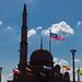 L'ombre de Masjid Putra - Putrajaya, nouvelle capitale malaise