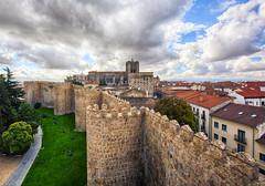 Les muralles d'vila (CarmeLlobet) Tags: vila murallas walls muralles