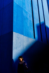 Blue (Ron See Photography) Tags: street photography blue melbourne cbd lines shadows