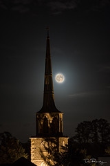 Moonlit Spire (DanRansley) Tags: danransleyphotography oxfordshire church moon moonlight night spire heaven religion christianity england uk nightsky