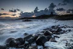 Wave upon Wave (johnkaysleftleg) Tags: dunstanburgh dunstanburghcastle deathrocks seafoam boulders seascape coast northumberland northumberlandcoast england canon400d sigma1020mmf456exdchsm ndsoftgrad09