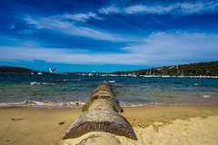 DSC01586 (Damir Govorcin Photography) Tags: sand balmoral sydney clouds sky zeiss 1635mm sony a7ii water natural light