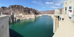 Hoover Dam (James B Currie) Tags: hooverdam dam arizona nevada panorama water june 2016 travel vacation