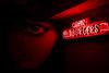 Neon Eye (jm02wrx) Tags: charleston neon neonlights night nightphoto kingst 843 sc chs kingstreet restaurant sign neonsign dark eye shopfront red redneon hamburgers open opensign hom