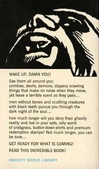 Gold Medal Books R1887 - Gerald Kersh - Nightshade & Damnations (back) (swallace99) Tags: goldmedal vintage 60s terror horror paperback