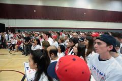 Donald Trump supporters (Gage Skidmore) Tags: donald trump jr campaign rally father son sun devil fitness center arizona state university tempe