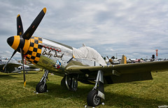 Baby-Duck (Chad Horwedel) Tags: babyduck p51dmustang nl251pw 415137 4472086 fighter eaaairshow oshkosh wisconsin