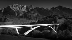 Tamina Bridge (Bastian.K) Tags: bridge concrete tamina bogen schweiz suisse switzerland leonhardt andrä und partner lap bogenbrücke beton spannbeton taminatal taminaschlucht schlucht gorge klamm pfäfers valens chur bad ragaz badragaz sony ilce7rii ilce7r2 a7rm2 zeiss loxia 35mm 20 loxia3520 carl nisi filter filters polarizer polarizor polfilrer polfilter