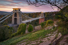 A True Classic (Paul C Stokes) Tags: clifton suspension bridge cliftonsuspensionbridge bristol uk united kingdon gorge autumn sony a7r zeiss 1635 lee filter 9 morning leegrad changingcolour changing colour color clouds perspective depth isambard kingdom brunel isambardkingdombrunel landscape photography landscapephotography autumcolour autumncolor autumnal avon avongorge sunrise presunrise pink pinks sky pinksky