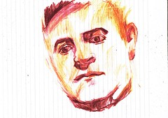 APUNTE (GARGABLE) Tags: portrait retrato sketch drawings dibujos angelbeltrn gargable