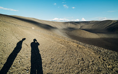 Shadows (Daniel Regner) Tags: green hverfjall crater lake myvatn iceland travel tourism trip road ring daniel regner digital color summer july 2016 awesome beautiful vacation volcano volcanic hiking hikes places world photography shadows silhouettes rock lava cinder cone europe