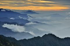 ~~  Mt. Hehuan Sunset (Shang-fu Dai) Tags:  taiwan   3416m  clouds sunset mthehuan nikon d800e  landscape afs24120mmf4 formosa  nantou seaofclouds