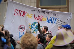 Stop The War On Water (michael.veltman) Tags: chicago illinois protest rally standing rock sioux stop dapl dakota access pipeline water is life protector veteran