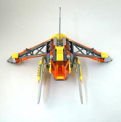 VVasp Viper vipershot (TFDesigns!) Tags: lego space spaceship venusian viper nnovvember fly fighter alien
