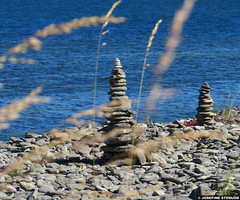 "20150703_05 ""The two towers""... ""On the beach""! HAR HAR! (& bokeh grass.) | Hgklint, Gotland, Sweden (ratexla) Tags: ratexlasgotlandtrip2015 gotland 3jul2015 2015 canonpowershotsx50hs hgklint sweden sverige scandinavia scandinavian europe beautiful earth tellus photophotospicturepicturesimageimagesfotofotonbildbilder europaeuropean summer travel travelling traveling norden nordiccountries roadtrip journey vacation holiday semester resaresor landscape nature scenery scenic ontheroad sommar thetwotowers twotowers twintowers thetwintowers onthebeach bokeh grass sea beach ocean coast rocks rocky favorite"
