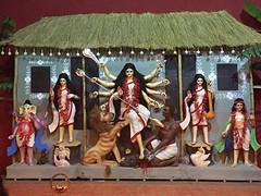 Hindi goddess Durga (ShaluSharmaBihar) Tags: hindu mythology hinduism hindus god bless praying temple goddess durga puja religion shakti