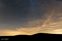Fading (capturedbyifti) Tags: star stars night astro astrophotography 70d 1020 sigma milky way lights sunset