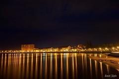 Reflejos Nocturnos Cambados (NandoLG) Tags: cambados nocturna paseo españa galicia spain luces nando tanaka