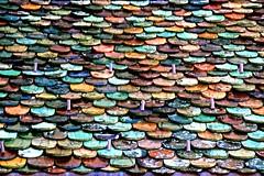 Studi di tettonica (meghimeg) Tags: 2016 glorenza tetto roof tegole tiles colori colors
