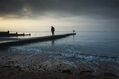 walking in with the waves (stocks photography.) Tags: michaelmarsh photographer photography whitstable awhitstableboy