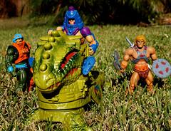 (LegionCub) Tags: he man heman manatarms manefaces e faces dragonwalker motuc mattel matty collector actionfigures toys vehicle outdoors classics eternia 1980s 80s