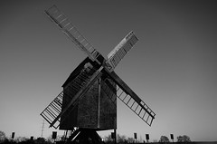 - X - (-wendenlook-) Tags: sw bw monochrome windmhle windmill sony a7ii 28703556 arendsee