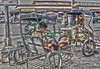 Pedicabs (Beegee49) Tags: pedicabs hd bacolod city philippines
