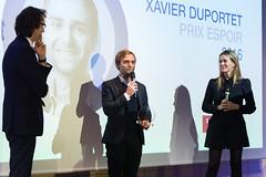 Thibaut Gemignani, Xavier Duportet et Angélique Gérard