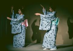 Maiko of Miyagawa-cho (dckyoto) Tags: japan lumix japanese 50mm dance kyoto maiko yukata gion nikkor miyagawa miyagawacho gh4