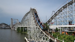 Roller Coaster 1 (Steven Hardesty) Tags: usa indiana rollercoaster monticello indianabeach whitecounty lakeshafer whitecountyin