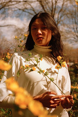 Jessie Li (nataliefongphotography) Tags: nyc portrait color film fashion model analogue nataliefong